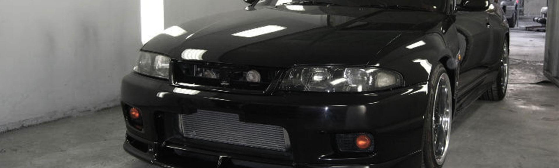 Modern black car picture